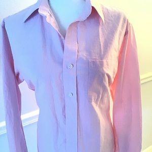 Izod Men's Button Down Shirt -pink SM 3/$25